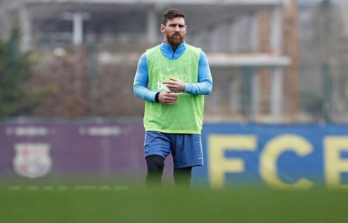 ¿Messi jugará de entrada contra Rayo Vallecano?. Foto: AFP