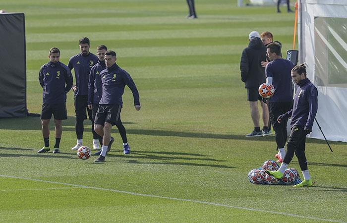 Juventus trabaja pensando en Udinese y Atlético de Madrid. Foto: AFP