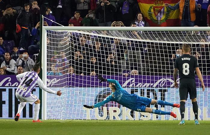 Al Valladolid le anularon dos goles. (Foto: AFP)