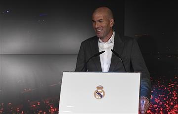 """Zidane volvió al Real y dijo: """"Es un gran desafío"""""""