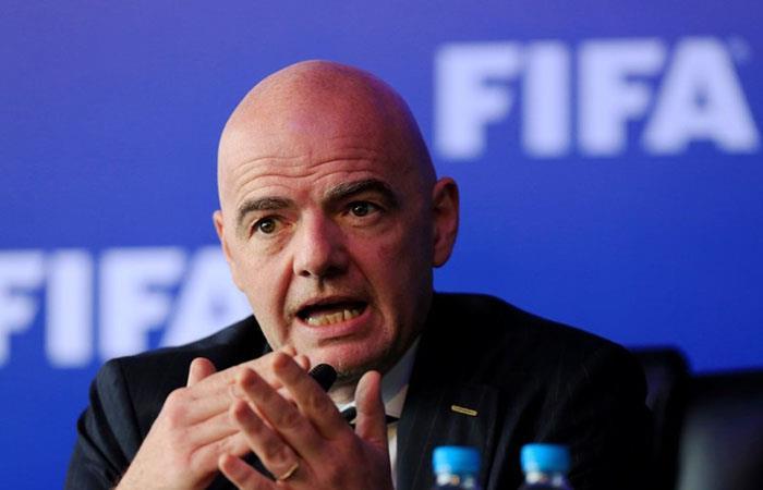 Infantino quiere un Mundial de Clubes de 24 equipos. (Foto: AFP)