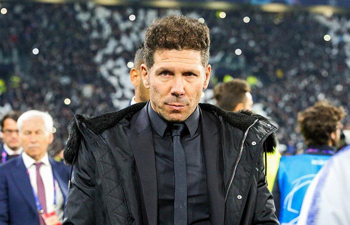 Simeone, autocrítico con la eliminación. Foto: AFP