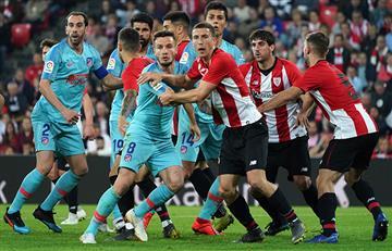 En baja: Atlético de Madrid cayó ante el Athletic