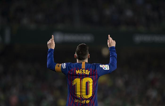 El diez estuvo de diez. (Foto: AFP)