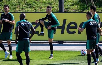 CR7 volvió a la selección de Portugal