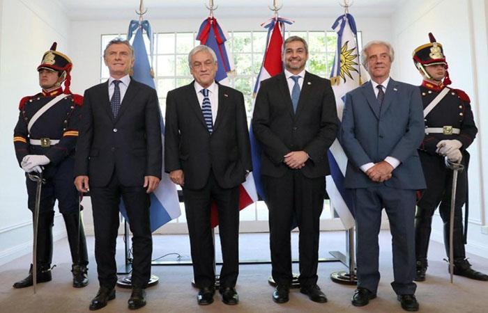 Los presidentes buscan acuerdo para organizar el Mundial 2030. (Foto: AFP)