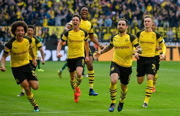 Bundesliga: Dortmund aprovechó el empate del Bayern y quedó puntero