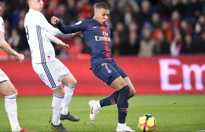 PSG intentó pero no pasó del empate con Estrasburgo. (Foto: AFP)