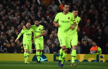 Barcelona se llevó un gran triunfo de Old Trafford