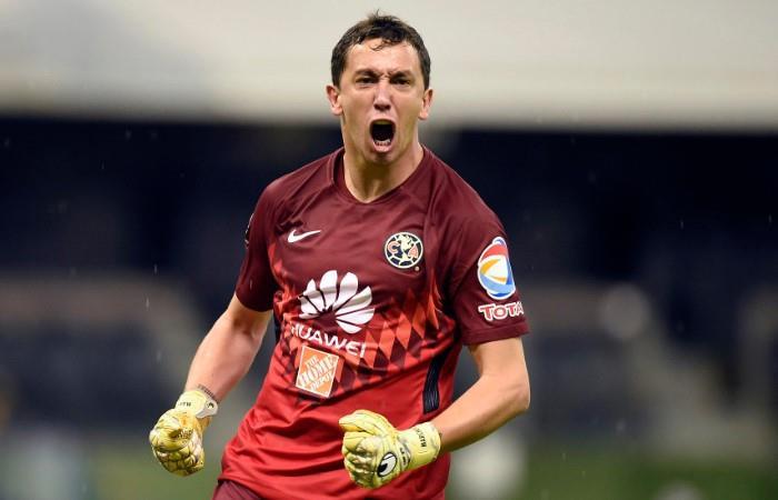 Marchesín llegó a su segundo título con el América. Foto: AFP