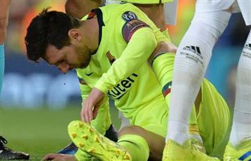 Messi, descartado para jugar contra Huesca