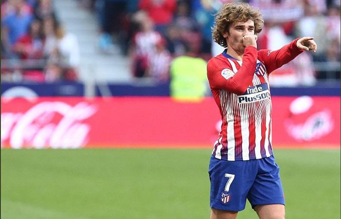 Griezmann, siempre determinante en el Atlético. Foto: AFP