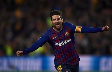 Con dos goles de Messi, Barcelona está en semifinales