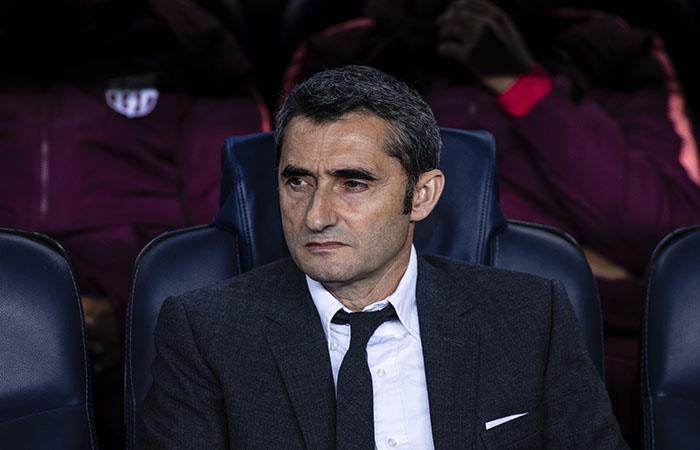 Valverde se deshizo en elogios a Messi. (Foto: AFP)