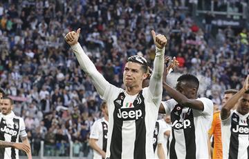 CR7 confirmó que se queda en Juventus