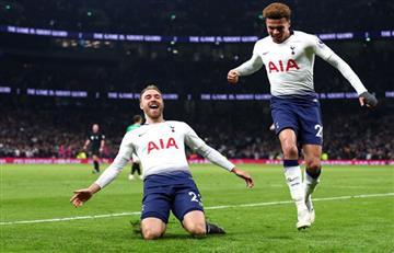 Tottenham venció al Brighton y se afirmó en el tercer puesto