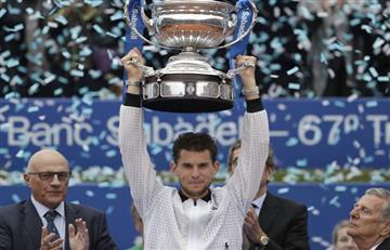 Thiem, campeón del ATP 500 de Barcelona