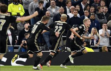 Ajax venció al Tottenham y sueña con la final