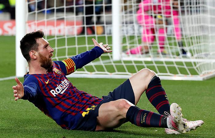 Messi, imparable. (Foto: EFE)