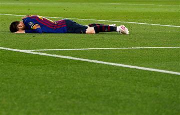 Junta firmas para que sancionen a Messi