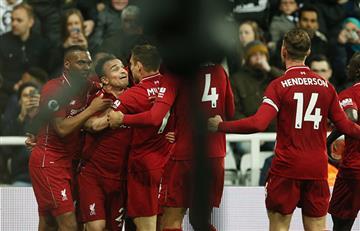 Liverpool ganó con lo justo y recuperó la cima