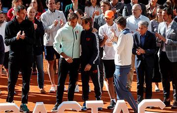 """Federer, sobre Ferrer: """"Siempre lo he apreciado"""""""