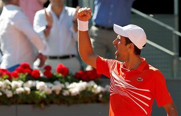 Djokovic tiene rival para la final de Madrid y no será Nadal