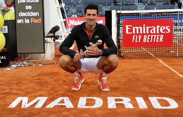Djokovic, el Rey de Madrid