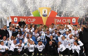 Lazio se coronó campeón de la Copa de Italia
