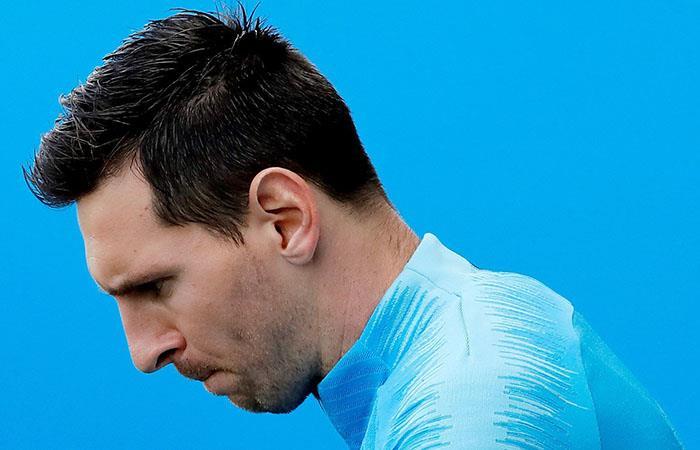 Messi, como nunca lo viste. (Foto: EFE)