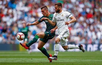 Betis derrotó al Real Madrid en el cierre de la Liga española