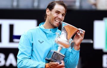 Nadal superó a Djokovic en la final de Roma