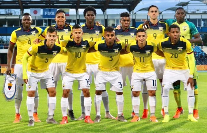 Ecuador no pudo con Japón en el debut. Foto: EFE