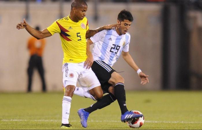 Exequiel Palacios out de la Copa América. Foto: EFE
