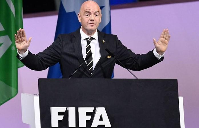 Infantino, reelecto como presidente de FIFA. (Foto: EFE)