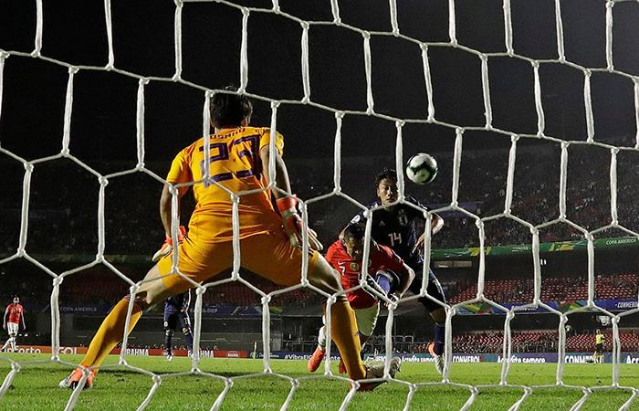 El 3-0 de Alexis Sánchez. Foto: EFE
