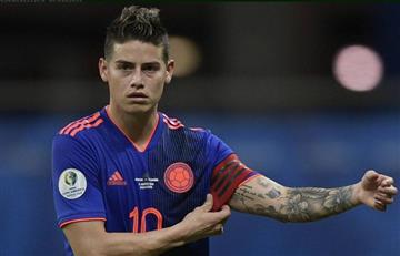 ¿James jugará en el Napoli?