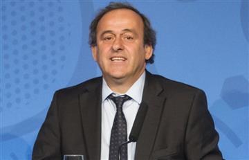 Detuvieron a Michel Platini