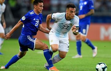 Lautaro, del enojo al optimismo