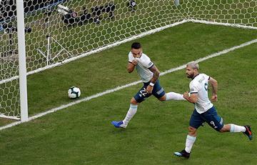 Argentina revivió y está en cuartos de la Copa América