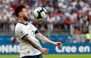 Messi y sus cumpleaños pintados de celeste y blanco
