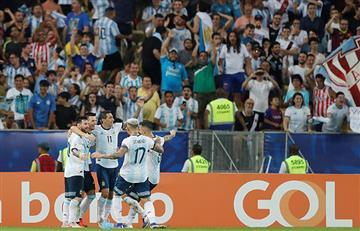 Argentina cumplió y está en semis de la Copa América