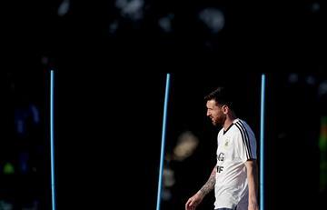 Messi y su costumbre de visitar el Mineirao
