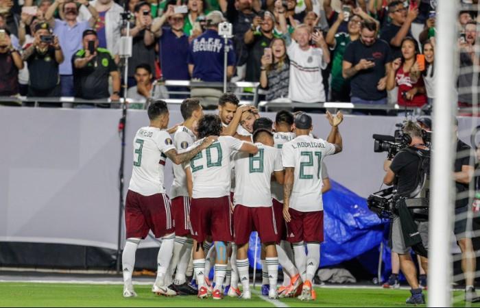 México jugará su novena final de Copa Oro. (Foto: EFE)