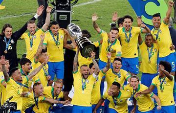 ¡Brasil es el campeón!