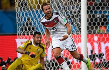 Mario Götze hizo enojar a los argentinos