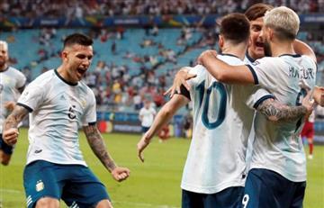 Argentina volvió al top 10