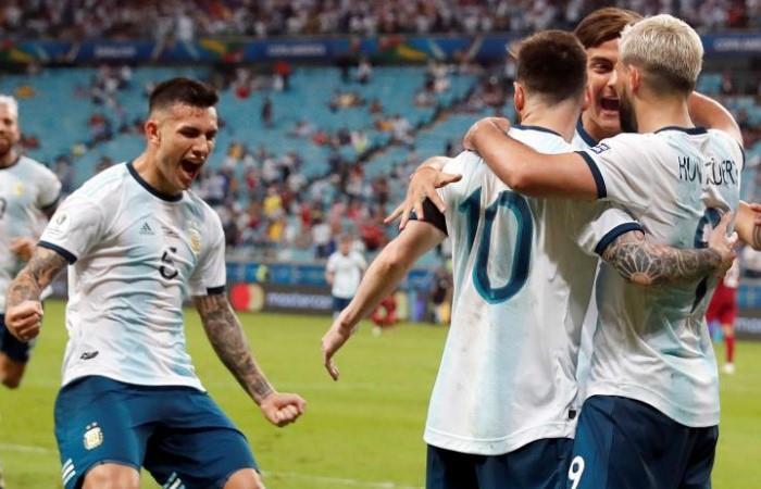 Argentina,top 10 del ranking FIFA. (Foto: EFE)