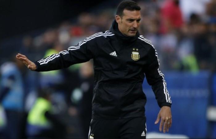 Scaloni habló del futuro de la Selección. (Foto: EFE)