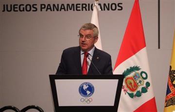 Thomas Bach habló en la previa de los Juegos Panamericanos
